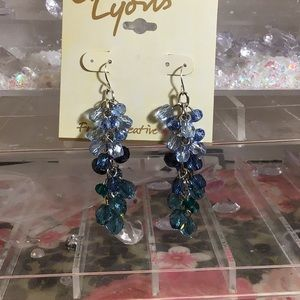 NWT beaded beautiful earrings